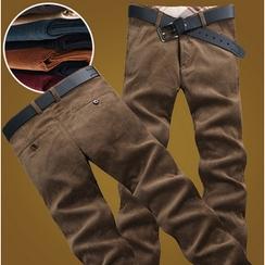 Consto - Corduroy Straight Pants