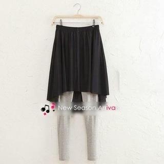 JVL - Inset Chiffon Skirt Leggings