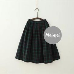 Meimei - Plaid Skirt