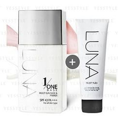 LUNA - One Base 45ml + Relief Yuzu Cleansing Foam 50g