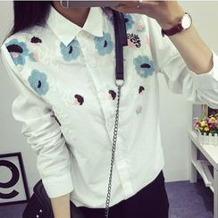 EFO - 长袖刺绣衬衫