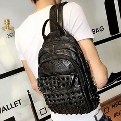 Yiku - Studded Backpack
