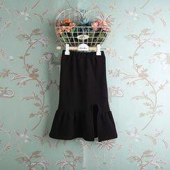 Kidora - 小童荷叶摆半身裙