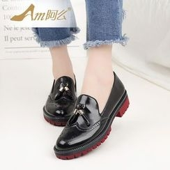 Amenx - Tasseled Loafers