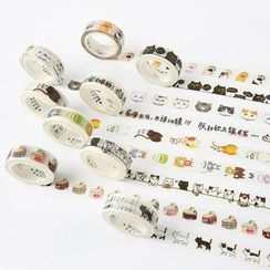 Cute Essentials - Cat Print Masking Tape