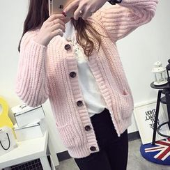 FR - Cable Knit Cardigan
