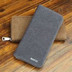 Moyyi - Zip Around Canvas Long Wallet