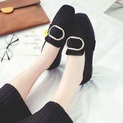 QQ Trend - 水钻饰扣乐福鞋