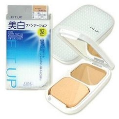 Kose - Fit Up 2 Way White Pact UV SPF 20 PA++ (#41 Natural Beige)