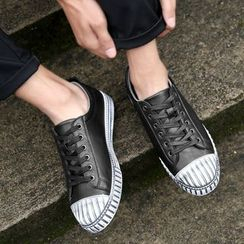 HANO - Faux Leather Sneakers