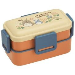 Skater - My Neighbor Totoro 2 Layer Soft Lunch Box (Flower)