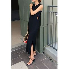 migunstyle - Sleeveless Maxi Dress