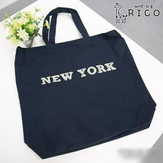 rico - Lettering Canvas Shopper Bag