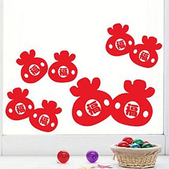 OH.LEELY - Lunar New Year Window Sticker