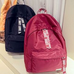 Clair Fashion - Letter Backpack