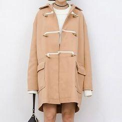 Heynew - Wool Toggle Coat