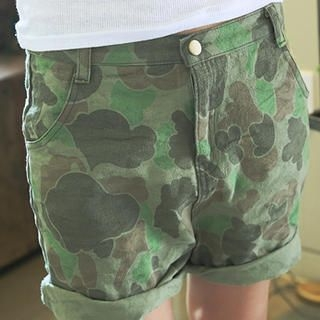 NANING9 - Camouflages Shorts