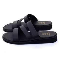 Ohkkage - Faux-Leather Slippers