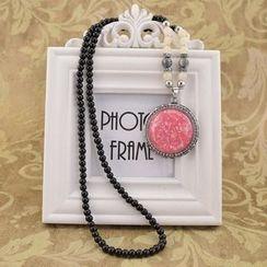 Ciroki - Droplet Pendant Necklace