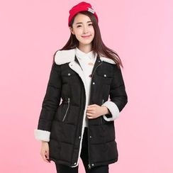 Pipafellow - Hooded Padded Zip Coat