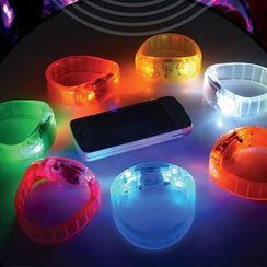 Hotaru - LED Silicon Bangle