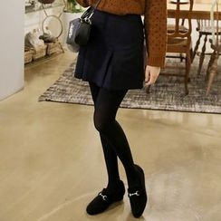 Envy Look - Pleated A-Line Mini Skirt