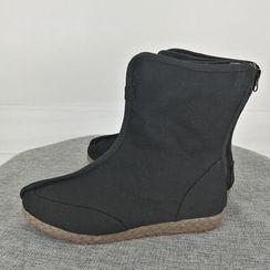 Sparrow Farm - Canvas Short Boots