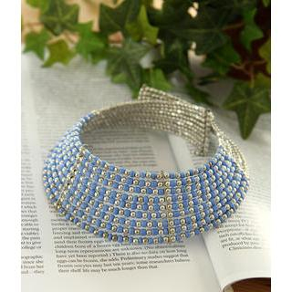 Petit et Belle - Beaded Choker Necklace