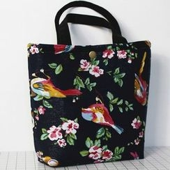 Ms Bean - Floral Print Lunch Bag