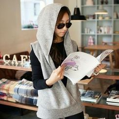PIPPIN - Shawl Collar Hooded Vest