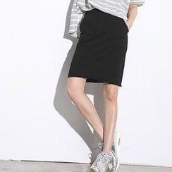 LULUS - Midi Skirt