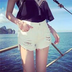 Visbee - Distressed Shorts