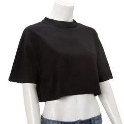 Whitney's Shop - Plain Cropped Top