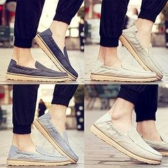 Desert Ram - Canvas Slip-Ons/ Boat Shoes/ Sneakers