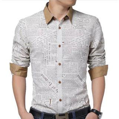 Gurun Vani - Print Long-Sleeve Shirt