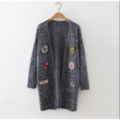 藍玫瑰衣坊 - 貼布繡長外套