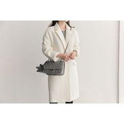 UPTOWNHOLIC - Flap-Detail Wool Blend Coat