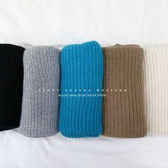 NANING9 - Wool Blend Rib-Knit Scarf