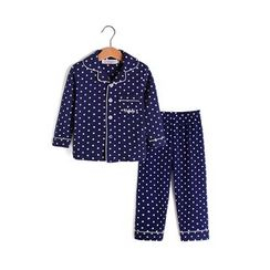 Yobaby - Family Matching Pajama Set: Polka Dot Shirt + Pants