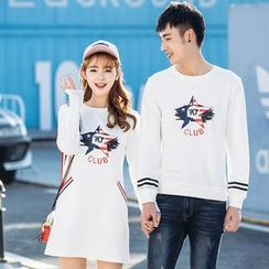 Igsoo - Couple Matching Pullover