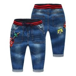 Seashells Kids - Kids Embroidered Jeans