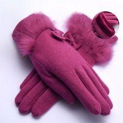 羚羊早安 - 混羊毛手套
