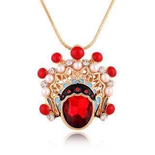 Best Jewellery - Gemstone Peking Opera Necklace