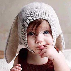 Pompabee - Baby Rabbit Ear Beanie
