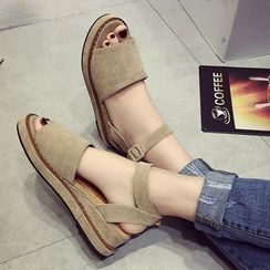 Kicko - Buckled Sandals