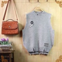 Angel Love - Applique Knit Vest