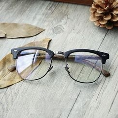 MOL Girl - Faux Wood Glasses Frame