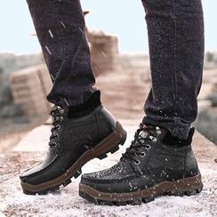 MARTUCCI - Stitched Chukka Boots