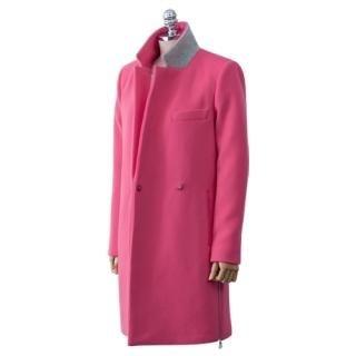 PEPER - Zip-Hem Hidden-Button Coat