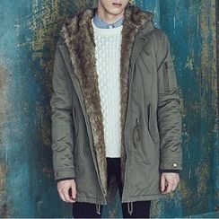 2RZ - Furry-Trim Fleece-Lined Parka